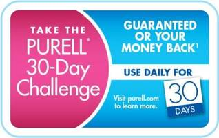 purell® advanced hand sanitizer challenges consumers to stay healthy, win prizes and be creative!